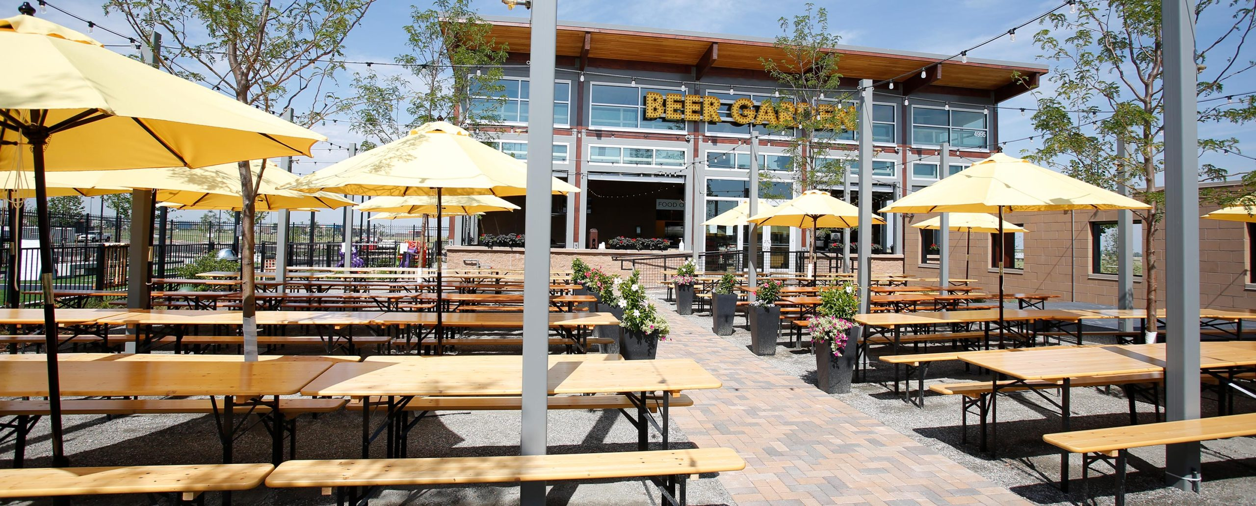 The GVR Beer Garden